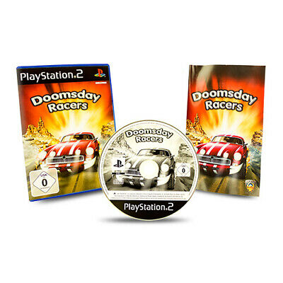 Playstation 2 PS2 Game Doomsday Racers in Original Package with Guide