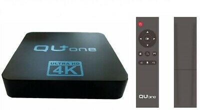 Qu + One 4k H 265 ( Iptv ) Multimedia Player, Wifi, Android 7.1