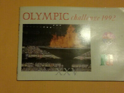 Olympic Challenge 1992 Brooke Bond Pg Tips Tea Cards And Books