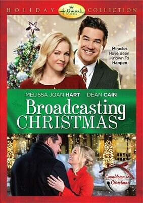 BROADCASTING CHRISTMAS New Sealed DVD Hallmark Channel Holiday Collection