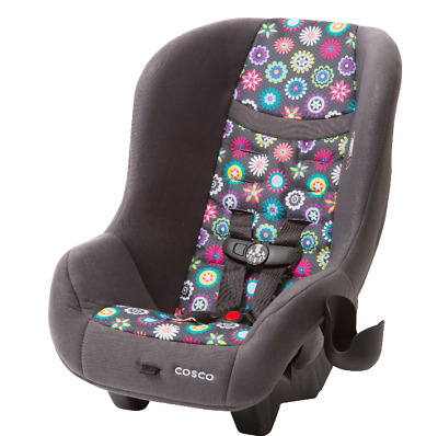 Baby Toddler Convertible Car Seat 5- 40 Pounds Floral Travel Safe Adjustable