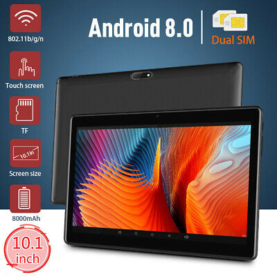 10.1 inch 4G-LTE Metal Tablet PC 8GB+128GB Android 8.0 Dual SIM GPS WIFI Phablet