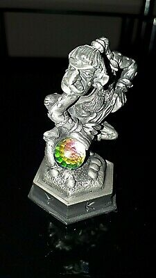 Danbury Mint the fantasy of the crystal chess piece Krollen the Troll(Pawn)