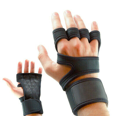 Gym Workout Best Weight Lifting Body Building Training Fitness Gloves Wrap Strap