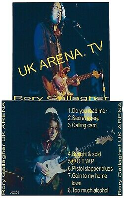 RORY GALLAGHER UK Arena CD Recorded Live in London 19-01-77 / 8 SONGS Soundboard