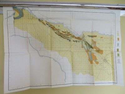 """1901 Antique Map Caldwell Idaho Nampa Roswell  30 X 21"""" #8522"""