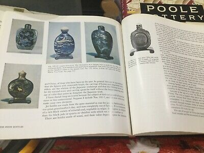 Chinese Snuff Bottles Book by L S Perry Good Condition