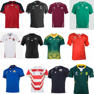 2019 World cup rugby jersey shorts sleeve shirt