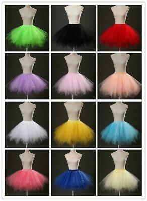 Women Adult Lady Tutu Tulle Skirt Fancy Skirt Dress Up Party Dancing Dress Hot