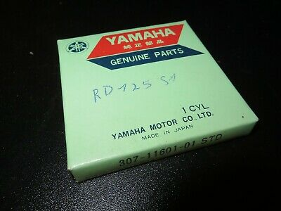 Yamaha Kolbenringe AS3 RD125 Piston Rings Standart Original Neu