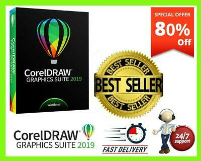 CorelDRAW Graphics Suite 2019 ⚡️ instant Delivery (30s)⚡️ Lifetime Activated 🔥