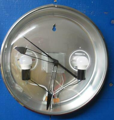 New Pam Style Clock Can, Glass, Bezel Ring Motor Lights, Hands: Just add  dial