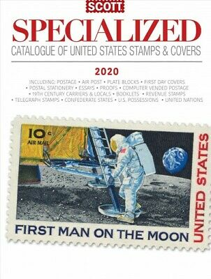 Scott Specialized Catalogues of United States Stamps & Covers, 2020 Edition :...