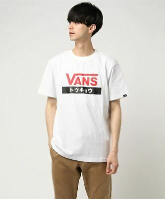 VANS Off The Wall Tokyo Men's Tee T Shirt White Red Black (Japan Exclusive) BNWT