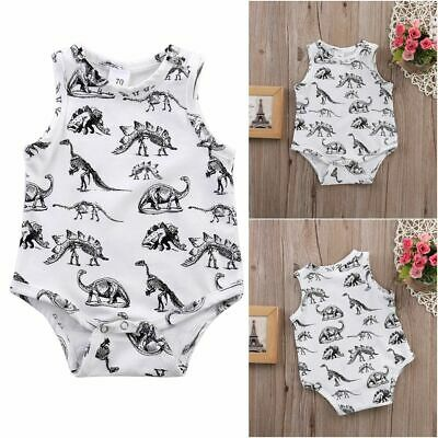 Girl Outfits Clothing Newborn Dinosaurs Print Baby Clothes Rompers Jumpsuits
