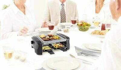 Appareil Raclette Princess 4  Personne Grill Party Special Hiver