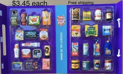 coles little shop 1&2- select your minis