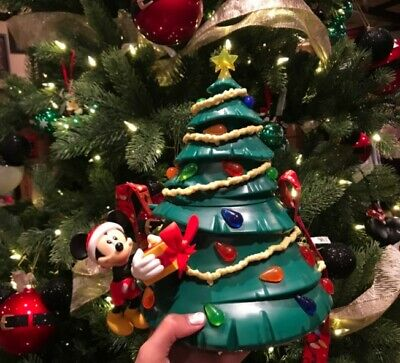 Disney New Mickey Light-Up Tree Popcorn Bucket