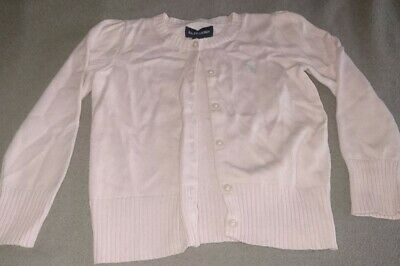Ralph Lauren Cardigan girls. 3 years old. Used but in good cinditionq