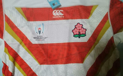 Rugby World Cup 2019 CANTERBURY Official Japan Replica Jersey 3L RWC2019