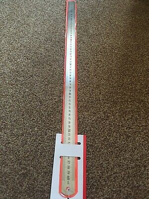 Metal Steel Ruler 60 Cm And Inches