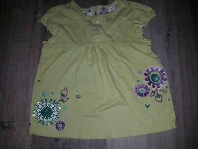 Girls MARKS AND SPENCER Autograph TOP Size 4-5 YEARS Used Vgv