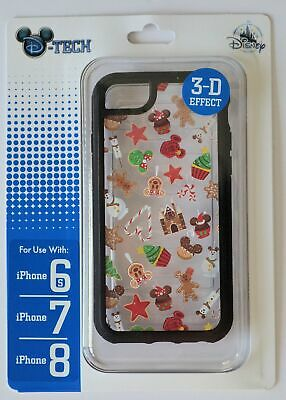 Disney Parks 2019 Christmas Sweet Treat Clear Iphone 6s/7/8 Phone Case NWT