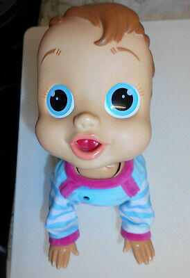 baby wow charlie crawl and play voice activated doll please see description