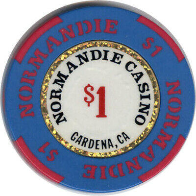 Normandie - $1 Casino Chip