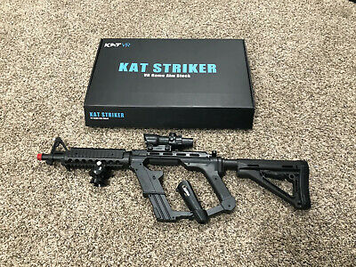 VR Gun Controller Stock KAT VR M4 Rifle Adapter for HTC Vive 1.0 and 2.0 pro