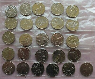 One FULL SET 2018 Royal Mint ALPHABET Ten 10p Pence Uncirculated Coins A to Z!!