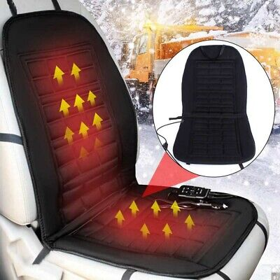 2X 12V Car Heated Heating Front Seat Thermal Cushion Heater Warmer Pad Cover
