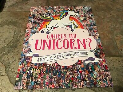 Where's the Unicorn?: A Magical Search-and-Find Book by Moran Paul, Paperback