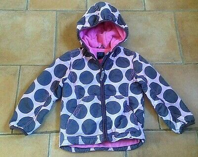 Mini Boden !! Age 3 - 4 Years ! Warm Fleece Lined Coat ! Hood