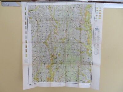 """1914 Antique Map Missouri Harrison County Bethany Blythedale  30 X 34"""" #8867"""