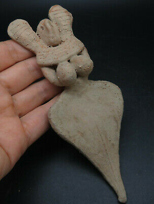 Ancient Terracotta Indus Valley Fertility Idol Figure
