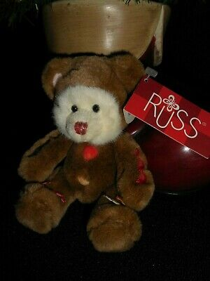 """Homerbest 16/"""" Plush Tan Color Bear New With Tags"""