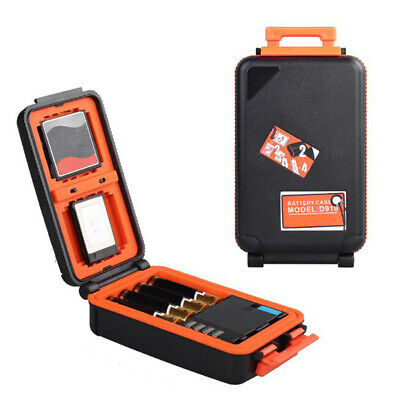 Shockproof Camera Battery Storage Box Case Memory Card CF XQD Card Case