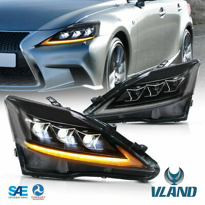 Volle LED Scheinwerfer für LEXUS ISF IS250 IS350 06-12 Sequenzielle Vordere Lamp
