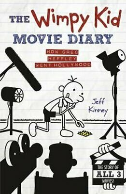 The Wimpy Kid Movie Diary How Greg Heffley Went Hollywood 9780141345154