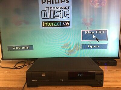 Philips CDI 210 Compact Disc Interactive Player.