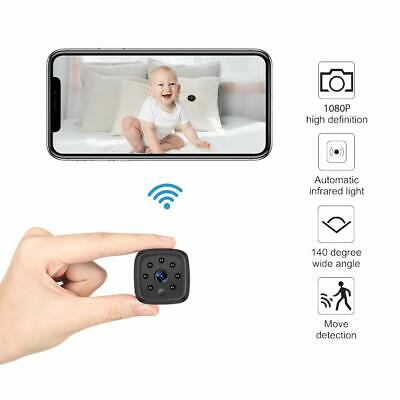 Mini Caméra Espion WiFi 1080P sans Fil HD Vision Nocturne iPhone/ Android/ iPad