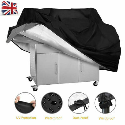 S-XXL BBQ Cover Heavy Duty Waterproof Medium Barbecue Grill Outdoor Protector UK