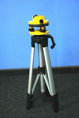 Surveyors Adjustable head, Built-in Spirit Level, Possibly by GEO Ltd w/ tripod