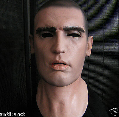 Latex Mask DOMINIC - Realistic Male Face Rubber Gum Skin Effect Man no silicone