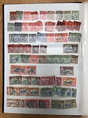 Crammed collection GB & Commonwealth stamps inc.Trinidad & Tobago KGV, KGVI