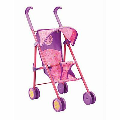 Peppa Pig Kids Pram Buggy Stroller Baby Dolls 55cm Folding Toy Pretend Play