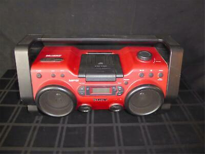 Sony ZS-H10CP Portable Heavy Duty CD Radio Boombox Personal Speaker System (390)