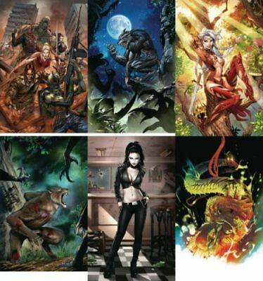 Monster Planet #1 set (Covers A-F) of 6 cover - NM or better