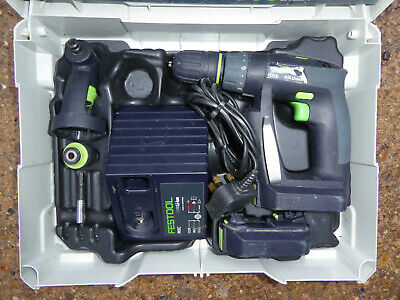 Festool CXS  2.6 10.8v Cordless Drill Driver 2 x 2.6Ah in Systainer